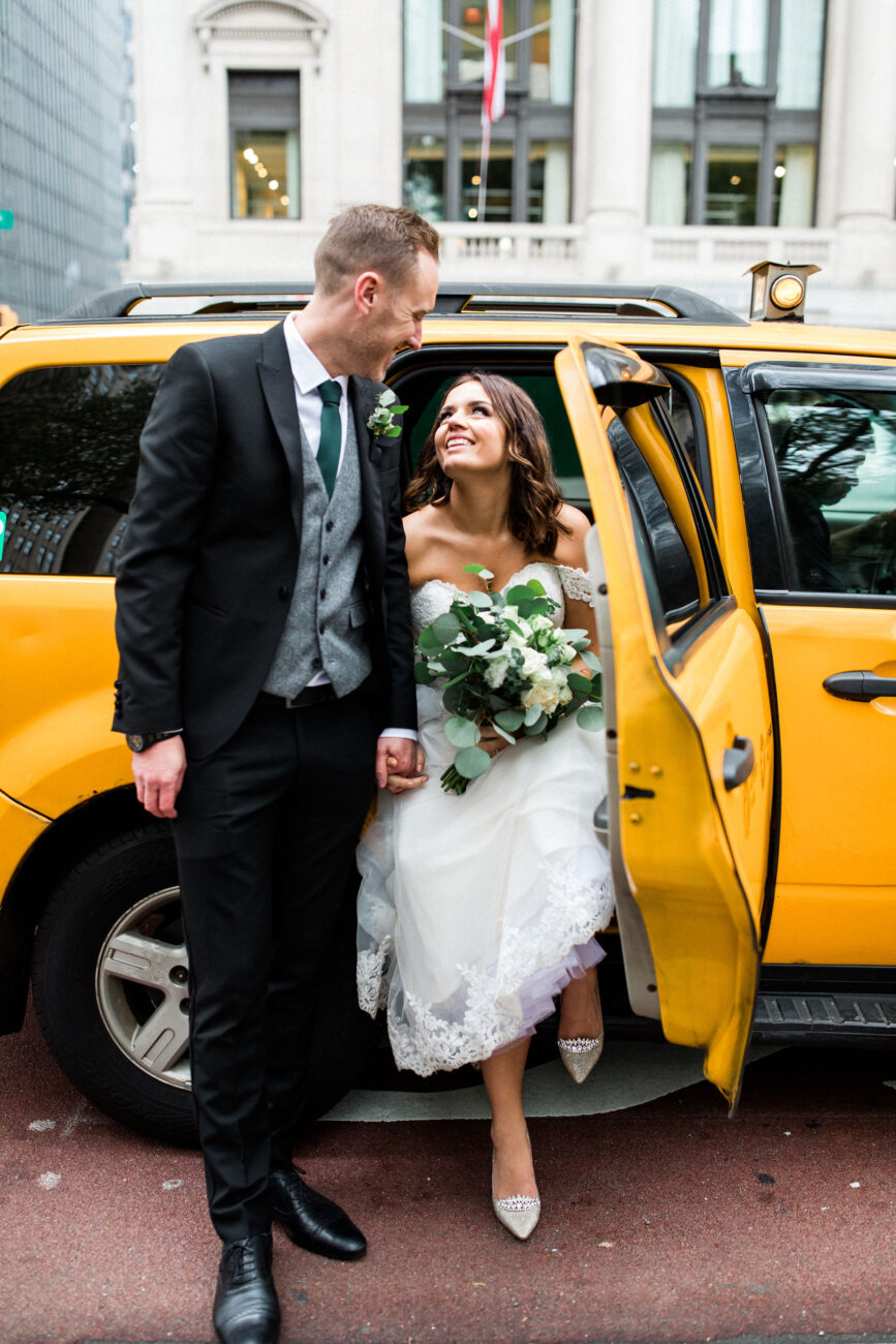 British Elopement in Central Park